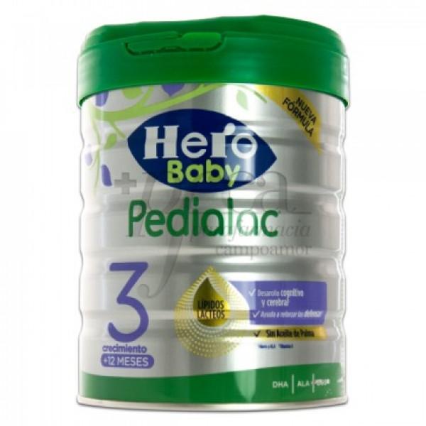 HERO BABY PEDIALAC 3 LIPIDOS LACTEOS 12M+ 800G