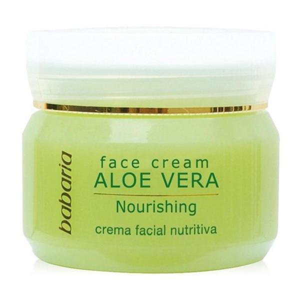Babaria aloe vera crema facial nutritiva 50ml