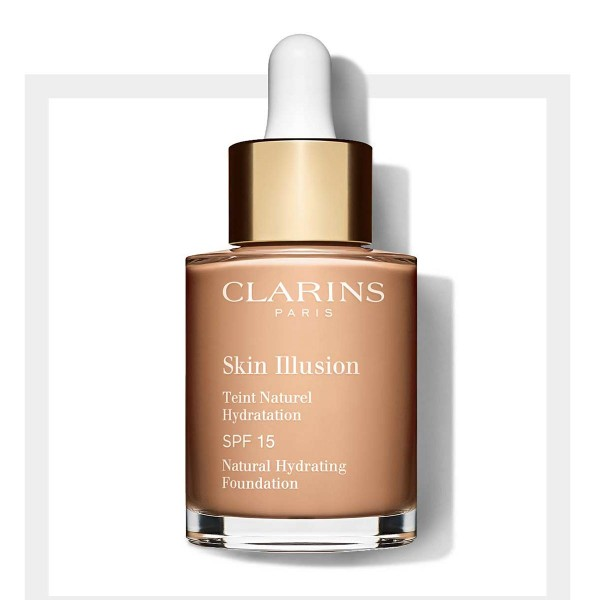 Clarins skin illusion spf15 foundation 108 sand 30ml