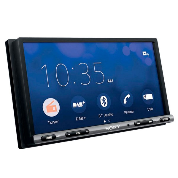 Sony xav-ax3005db receptor de dvd con pantalla de 6.95'' para el coche con bluetooth apple carplay y android auto