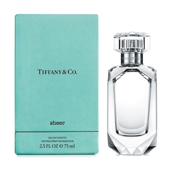 Tiffany's sheer eau de toilette 75ml vaporizador