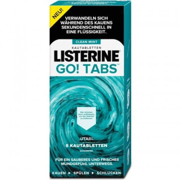 Listerine Go Tabs  8 u.