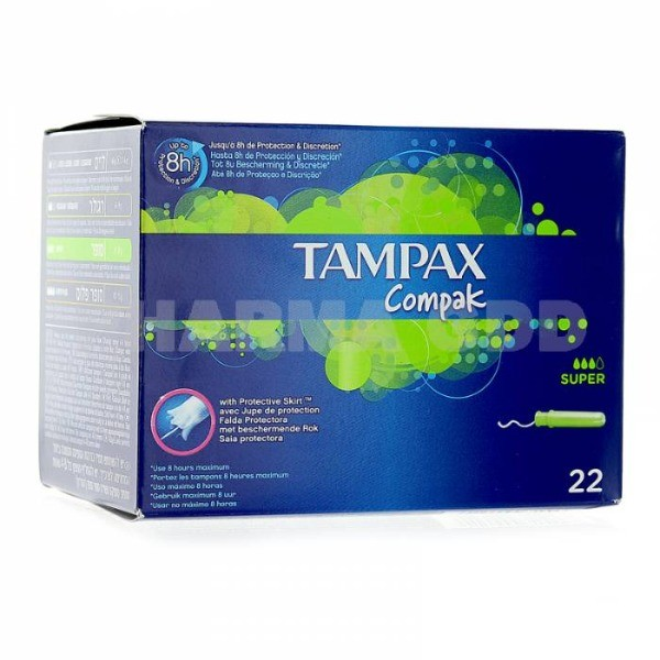 Tampax Compak  super  22 u