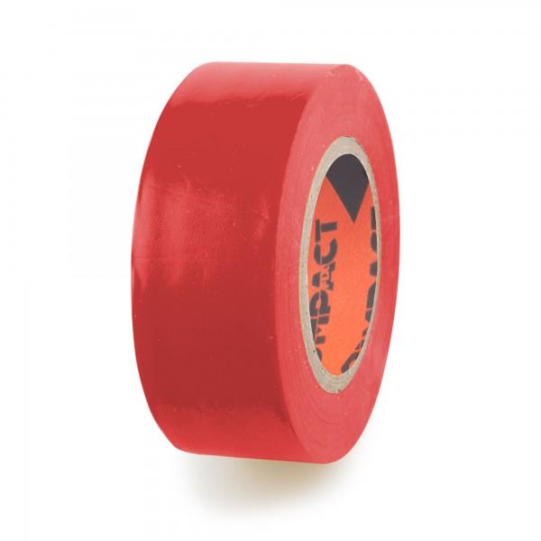 Cinta aislante pvc 20x25 compact roja