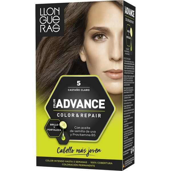 LLONGUERAS Advance  Tinte  color 5 castaño claro