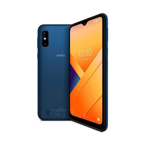 Wiko y81 azul móvil 4g dual sim 6.2'' hd+ quadcore 32gb 2gb ram cam 13mp selfies 5mp