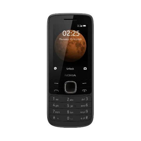 Nokia 225 2020 negro móvil 4g 2.4'' qvga fm cam vga 0.3mp