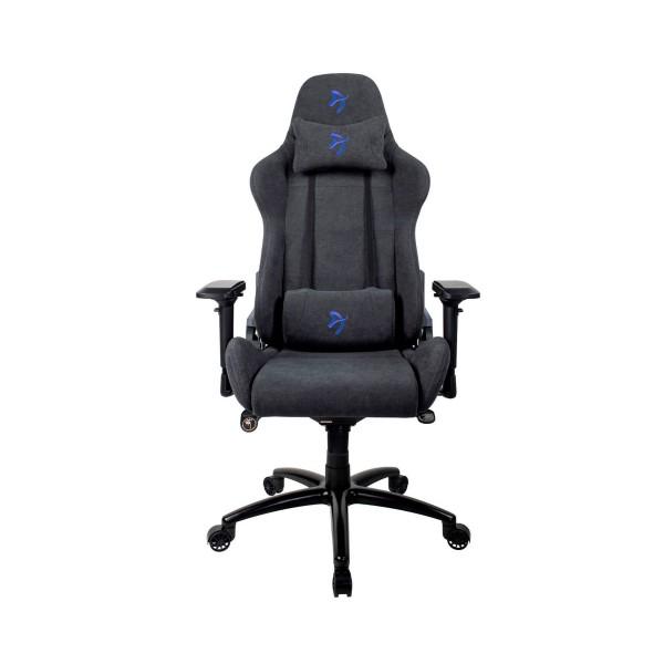 Arozzi signature soft silla gaming azul/ ergonómica 1ª categoría/tejido 1ª calidad/multitud de funciones/ reposabrazos 4d/hasta 130kg