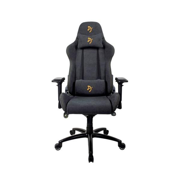 Arozzi signature soft silla gaming oro/ ergonómica 1ª categoría/tejido 1ª calidad/multitud de funciones/ reposabrazos 4d/hasta 130kg