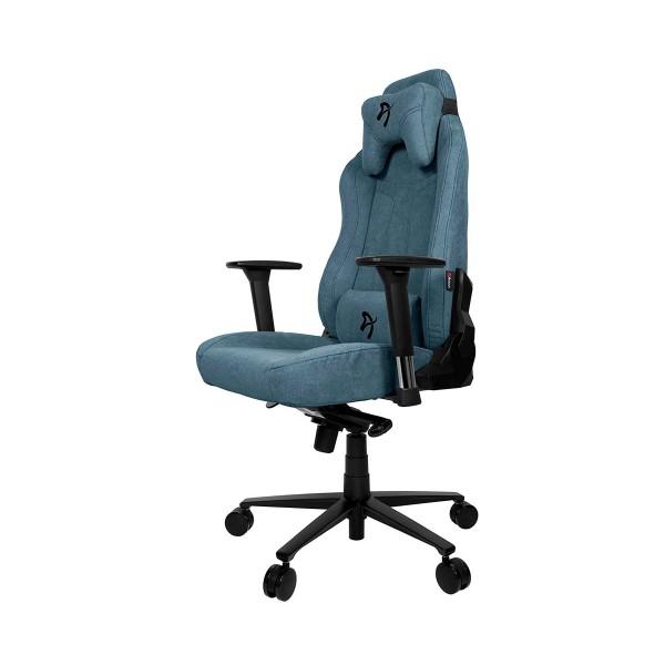 Arozzi vernazza soft silla gaming azul/ ergonómica 1ª categoría/tejido 1ª calidad/multitud de funciones/ reposabrazos 3d/hasta 145kg
