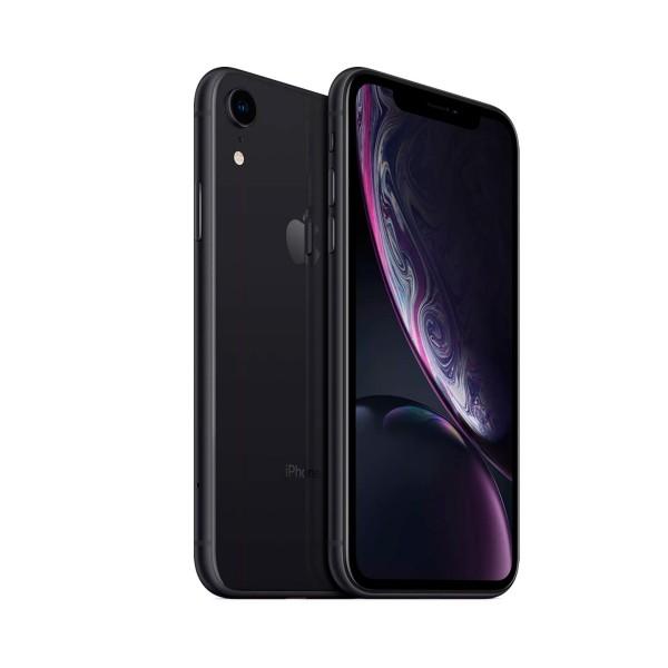 Apple iphone xr 64gb negro reacondicionado recommerce móvil 4g 6.1'' liquid retina hd led hdr/6core/64gb/3gb ram/12mp/7mp